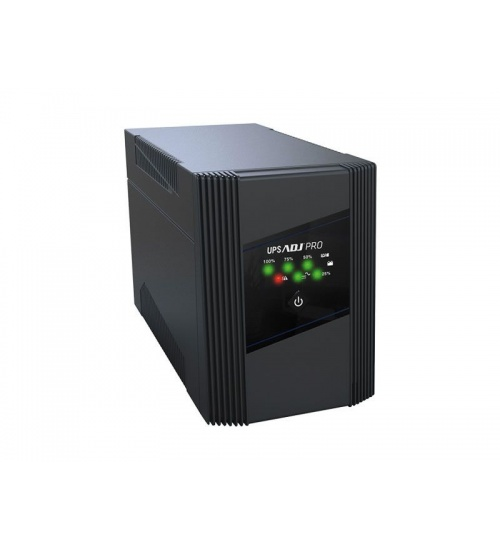 Ups 1,6 kva desktop line int.pro series 4*iec+2*iec protect bk adj
