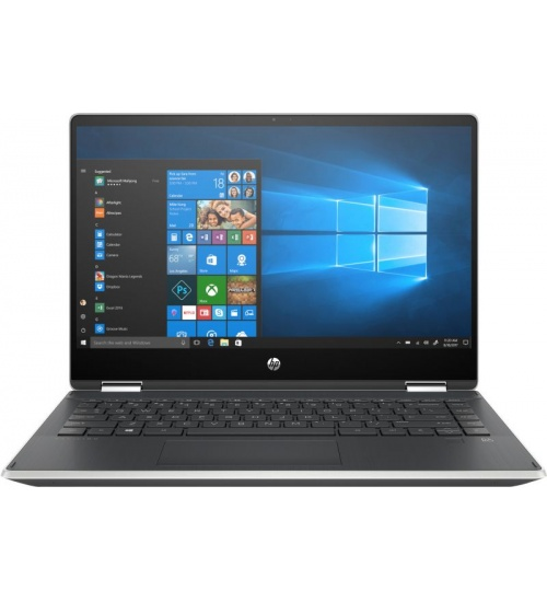 Notebook 14 i3-8145u 8gb 128gb touch w10 hp pavilion x360 - 14-dh0027nl