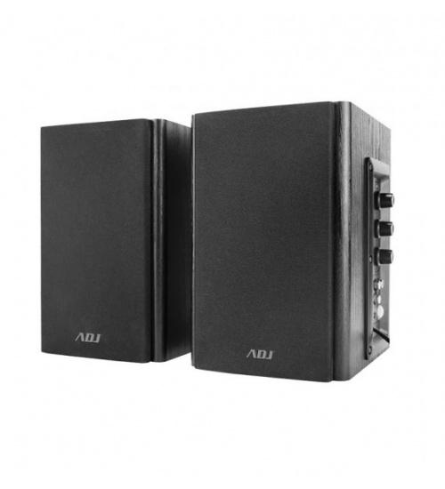 Speaker 2.0 set 30wrms pro-sound bk legno adj