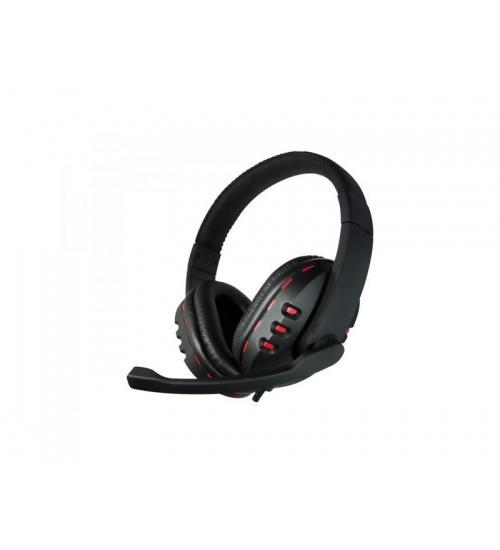 Cuffia c/microfono usb gaming bk/rd red star compatibile con ps4 adj