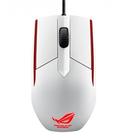 Mouse gaming rog sica white usb con filo 5000dpi