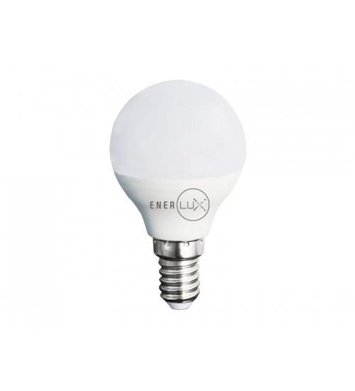 Lampadina led enerlux e14 5w 6500°,k luce fredda lumen 396