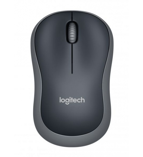 Mouse m185 log cordless grey/nero logitech usb nano receiver