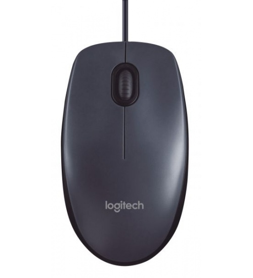 Mouse m100 log oem usb black nero con scrolling