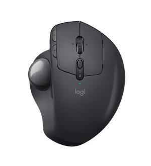 Mouse mx ergo log trackball wireles s usb 8 tasti nero solo mano dx