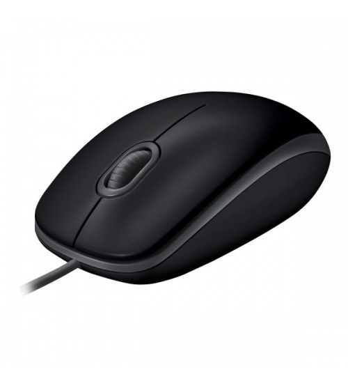 Mouse b110 log silent dark optical nero con scrolling usb