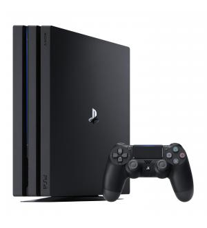 Sony playstation pro 1tb gamma blac k ps4