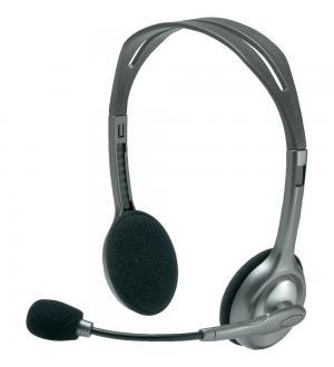 Cuffia con microfono portable headset h110