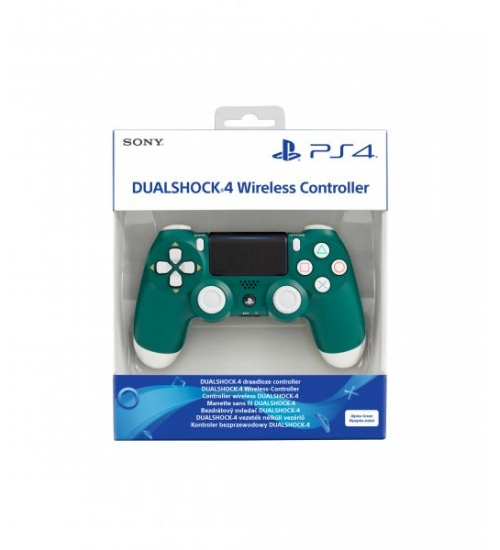 Dualshock 4 green alpine v2 wifi controller pad ps4
