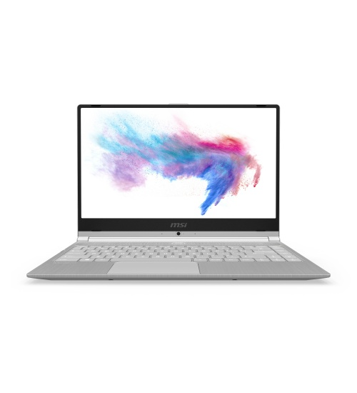 Notebook msi modern 14 a10m, no os, 14fhd ips 60hz 72% ntcs thin bezel rgb col., comet lake i5-10210u,8gb,256gb nvme ssd - silver