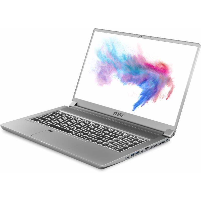 Notebook msi creator 17 a10sf (rtx2070 maxq),17.3uhd hdr1000 mini led 60hz dci-p3,i7-10875h+hm470,16gb*2,1tb nvmessd,w10pro,8gb gddr6