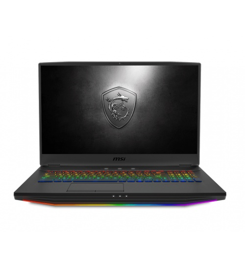 MSI Gaming GT76 9SGS-272IT Titan DT Nero Computer portatile 43,9 cm (17.3) 3840 x 2160 Pixel Intel® Core™ i9 di nona generazione 64 GB DDR4-SDRAM 2024 GB HDD+SSD NVIDIA GeForce RTX 2080 SUPER Wi-Fi 6 (802.11ax) Windows 10 Pro