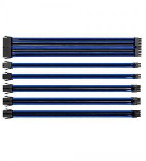Thermaltake ttmod cavi sleeve modulari d`estensione per alimentatore colore nero e blu