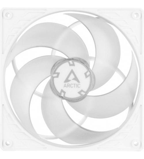 Arctic p14 pwm pressure optimised ventola da 140mm (white/transparent)
