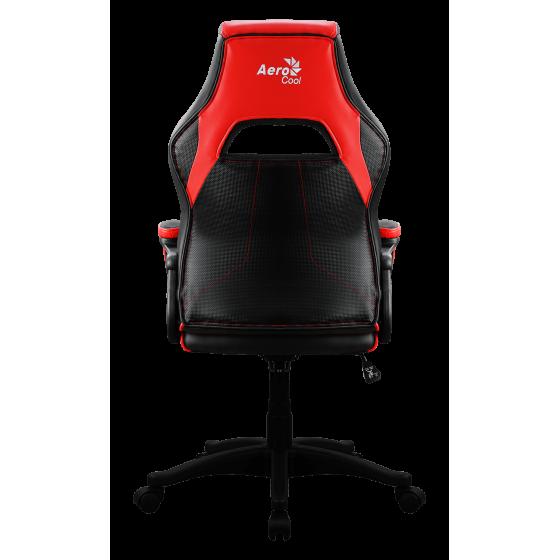 Aerocool ac40c poltrona gaming con air technology colorazione black red