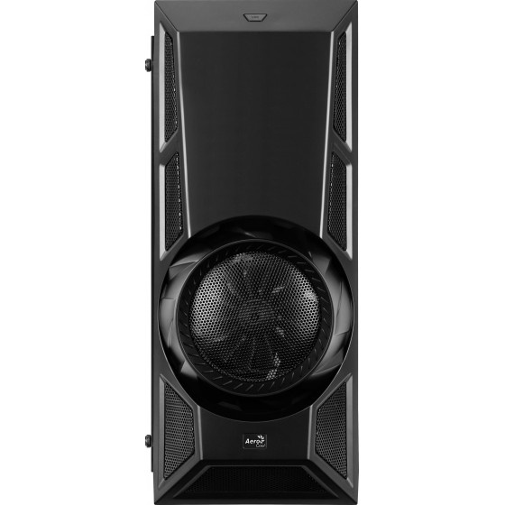 Aerocool aero engine rgb-a-bk-v1 acrylic case middle tower black