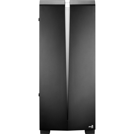 Aerocool scar - g - bk -v1  tempered glass case middle tower black