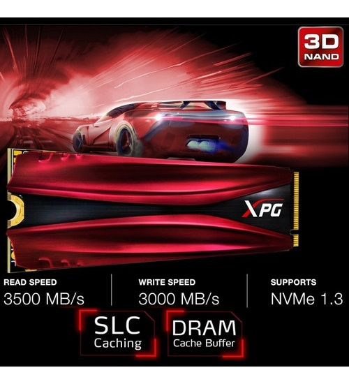 Adata ssd xpg gammix s11 pro 512gb m.2