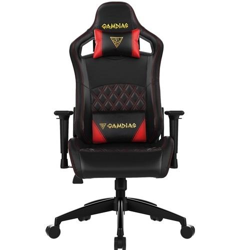 Gamdias sedie gaming aphrodite ef1 br nera & rossa vinylpelle multi-regolaz
