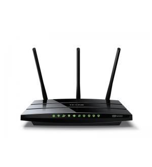 Router ac1200 vdsl/adsl 1ge wlan +3 felan 1pusb 2.0 3 antenne fisse