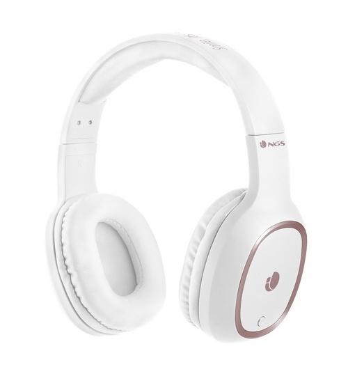 Ngs cuffia bluetooth artica pride white micro e lettore ean 8435430614169