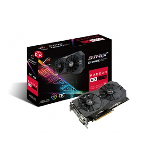 Scheda video asus rog rx570 o4g gaming 4gddr5 pcie3.0  2*dvi-d dp hdmi