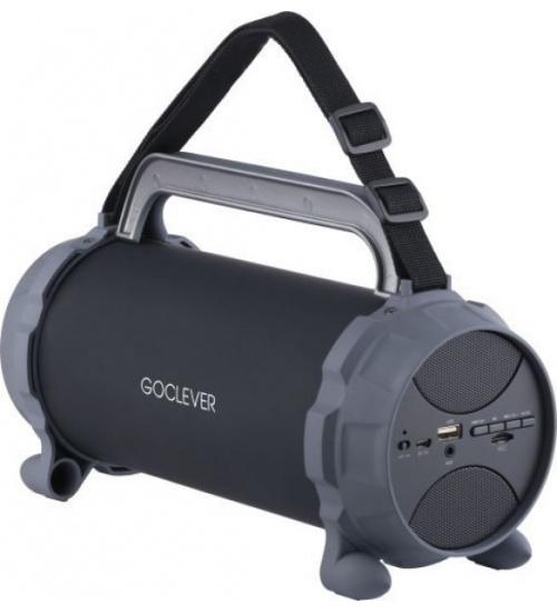 Speaker goclever tubo rocket bluetooth radio 200mah tfcard