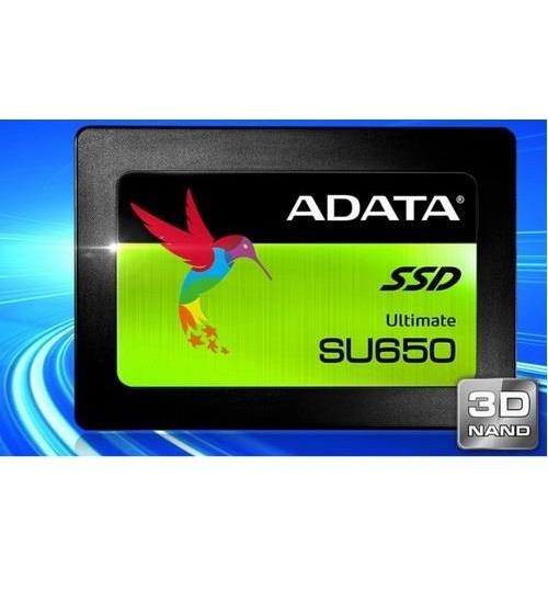 Adata ssd asu650ss 240gb 2.5`` nand flash 3d tlc 520/450mb/s
