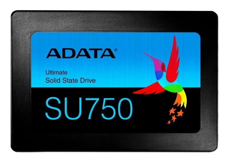 Ssd 2,5 256gb sata 6gb/s su750 550/520 mb/s r/w adata 3d tlc