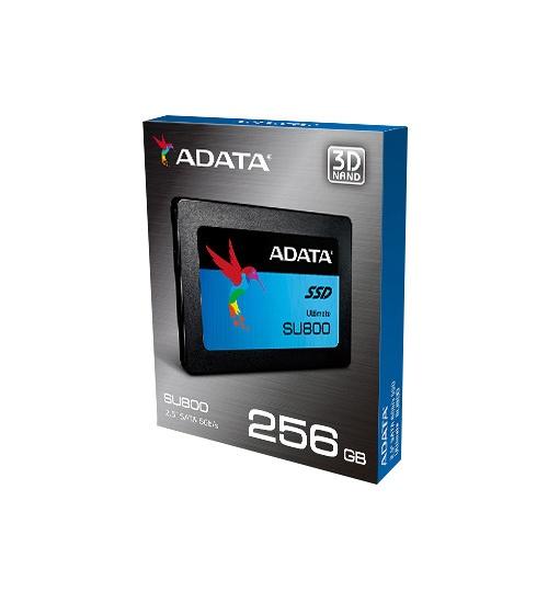 Adata ssd asu800ss 256gb 2.5`` nand flash 3d tlc 560/520mb/s