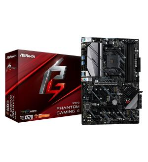 Scheda Madre asrock am4 x570 phantom gaming4 4*ddr4 8*sata3