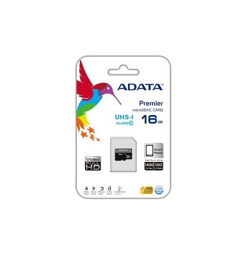 Sdhc adata micro premier 16gb (2in1) uhs-i cl10