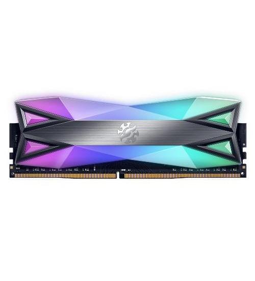 Memoria adata xpg spectrix d60g dual rgb 16b 3600mhz ax4u3600316g18a-st60