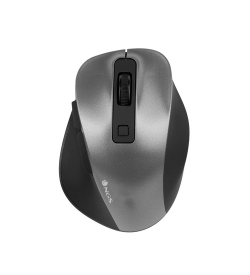 Ngs mouse bow mini grey wireless ottico 2.4ghz -800/1200/1600 dpi 843543061