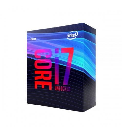 Processore cpu intel i7-9700k 3,6ghz skt1151 8core cache 8gt/s 14nm 95w cfl