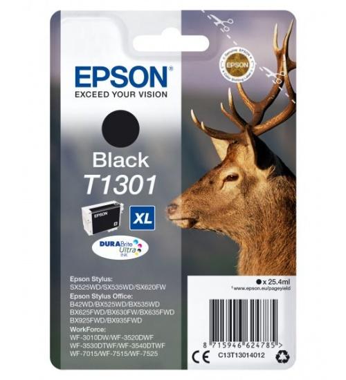 Ink epson t1301 nero per stylus bx325wd/sx525wd/620fw