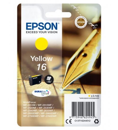 Ink epson 16 giallo durabrite ultra per workforce wf 2010/2510
