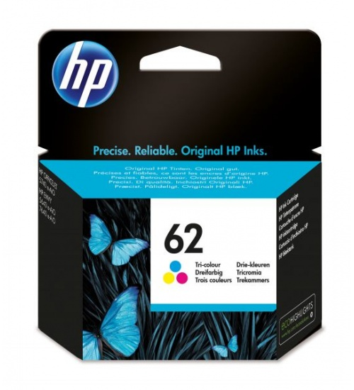 Ink hp 62 multicolor