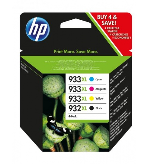Ink hp c2p42ae 932xl+933xl multipack nero+clr officejet 6600