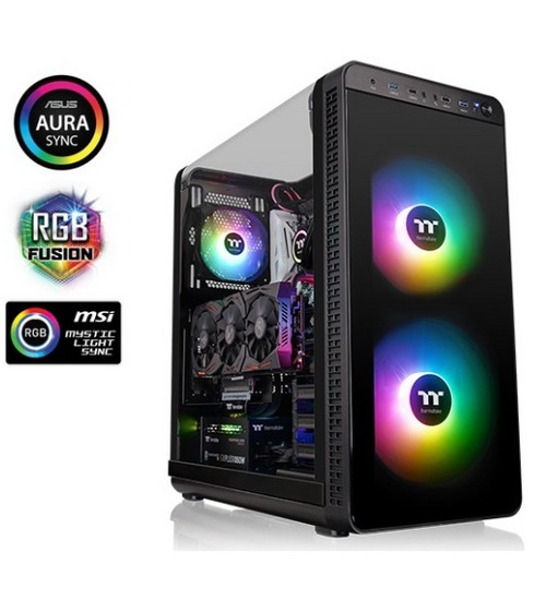 Thermaltake case mid tower view 37 argb edition