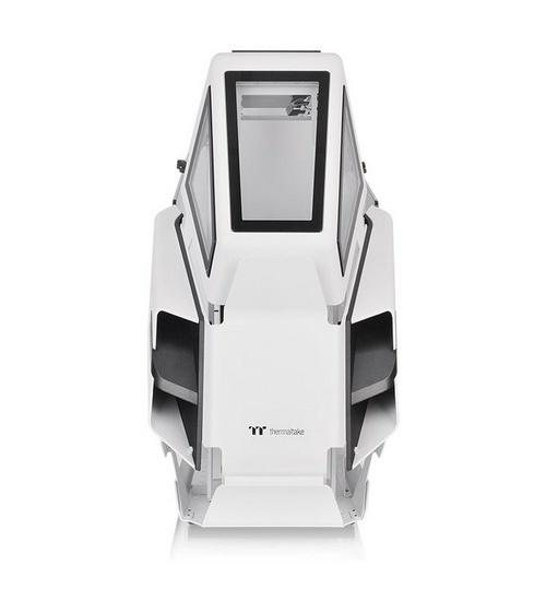 Thermaltake case tower ah t600 snow 5mm tg stile elicottero open frame