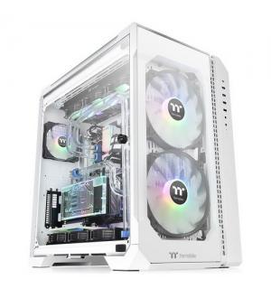 Thermaltake case full tower view 51 snow tg argb 2*200mm+1*120mm argb fan