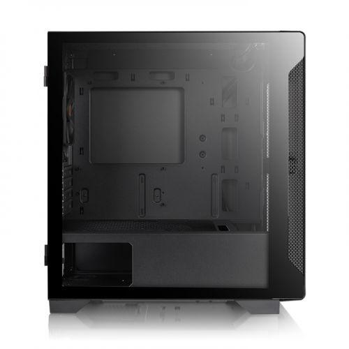Thermaltake case micro atx s100 tg ca-1q9-00s1wn-00
