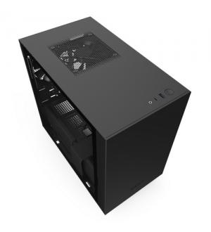 Nzxt gaming case h210 mini itx nero/nero - 2*120 aer f