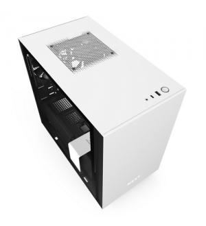 Nzxt gaming case h210 mini itx nero/bianco - 2*120 aer f