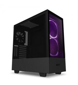 Nzxt gaming case h510 elite comp.mid t.nero/nero -2*140 aer rgb f-1*led s.