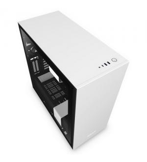 Nzxt gaming case h710i mid t.nero/bianco-3*120+1*140mm aer f-2*led s.-f.ctr
