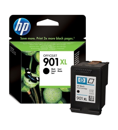 Hp n.901xl officejet 4525/35/40 ink bk