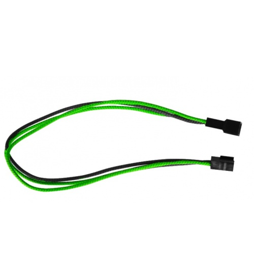 Cavo gammec prolunga fan 3pin verde/nero