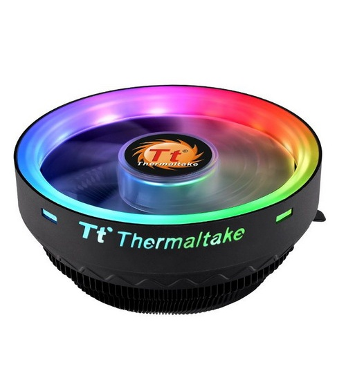 Thermaltak cpu cooler ux100 1800rpm argb fan 5v mb sync